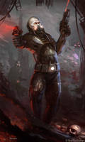 Burning Suns - Cyborg by Redan23