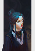 Ling Wen by Sinistry-exe