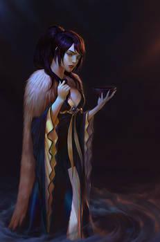 Commission: Eastern vampiress