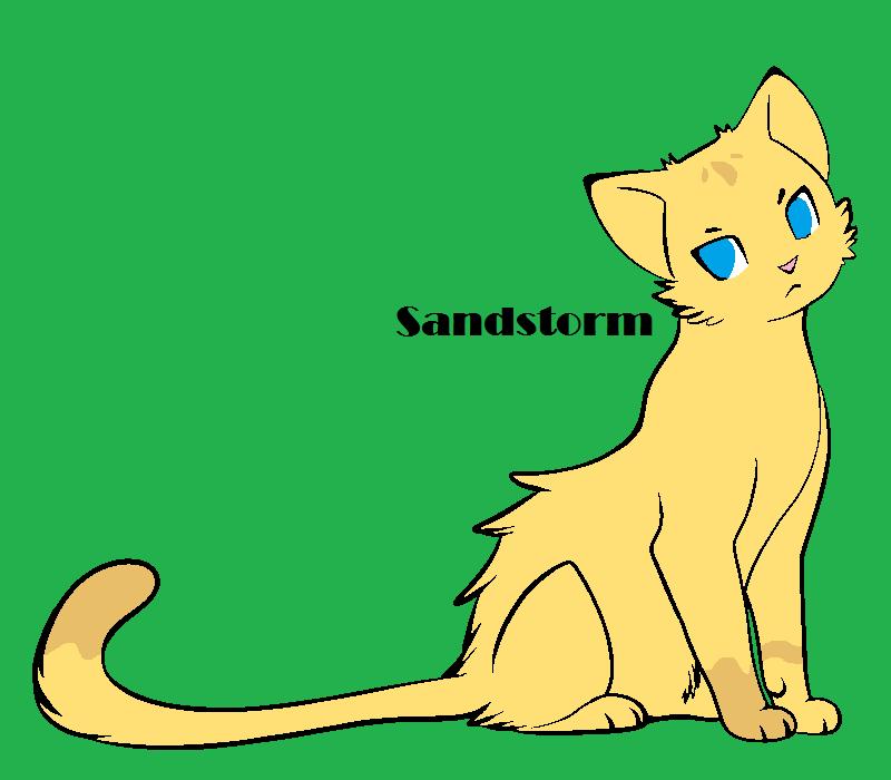 sandstormwarrior catthunderclan by kitcatmlp on deviantart