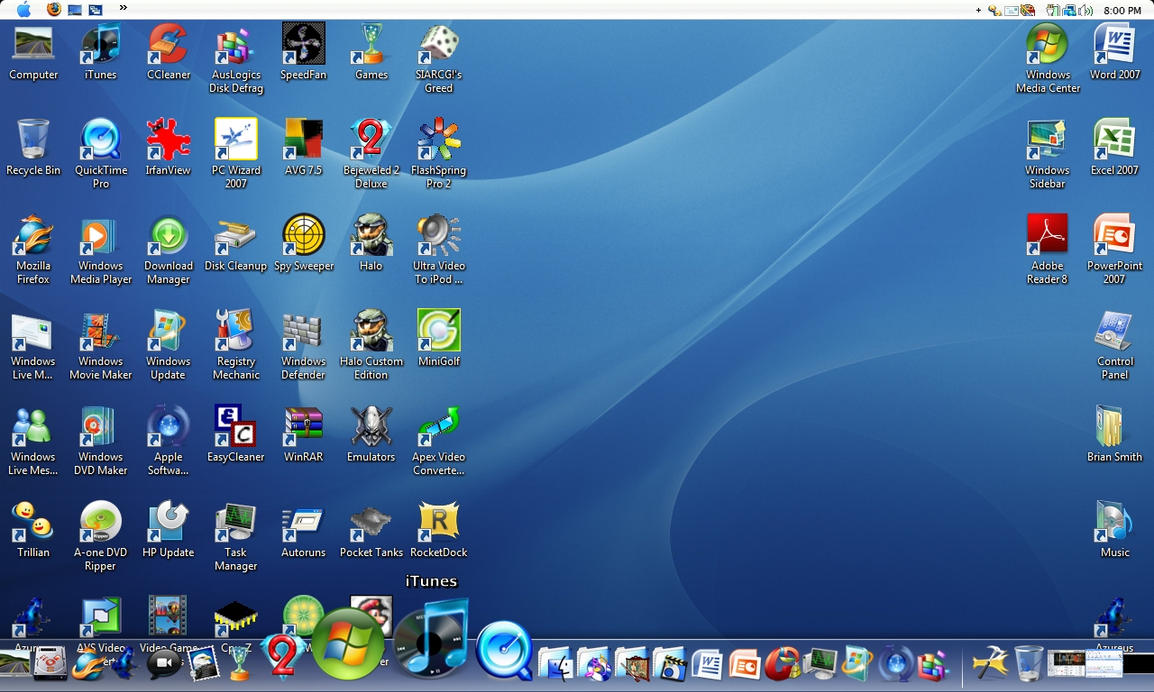 Mac OS X Theme Screen by BSmith123