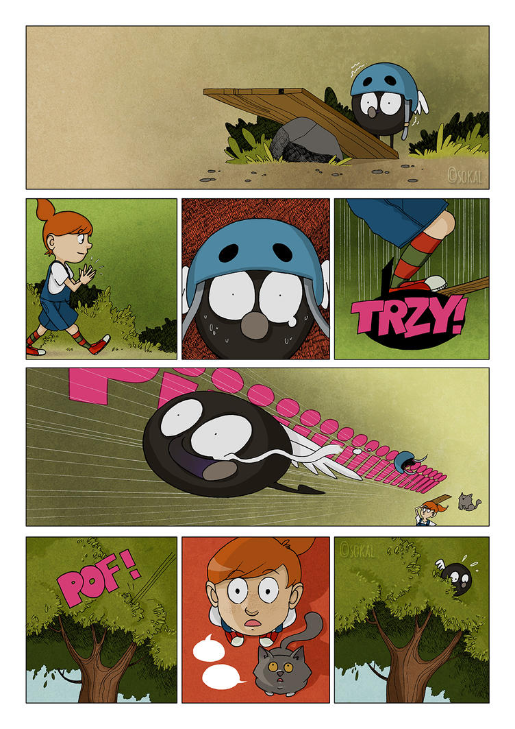 Little Big Adventure page by sokal-c