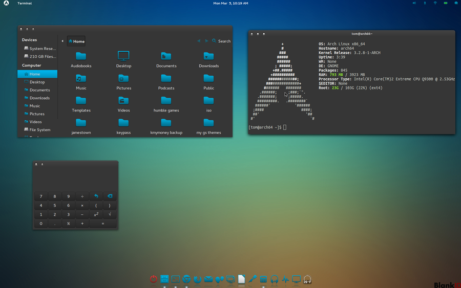 Arch Icon Themes