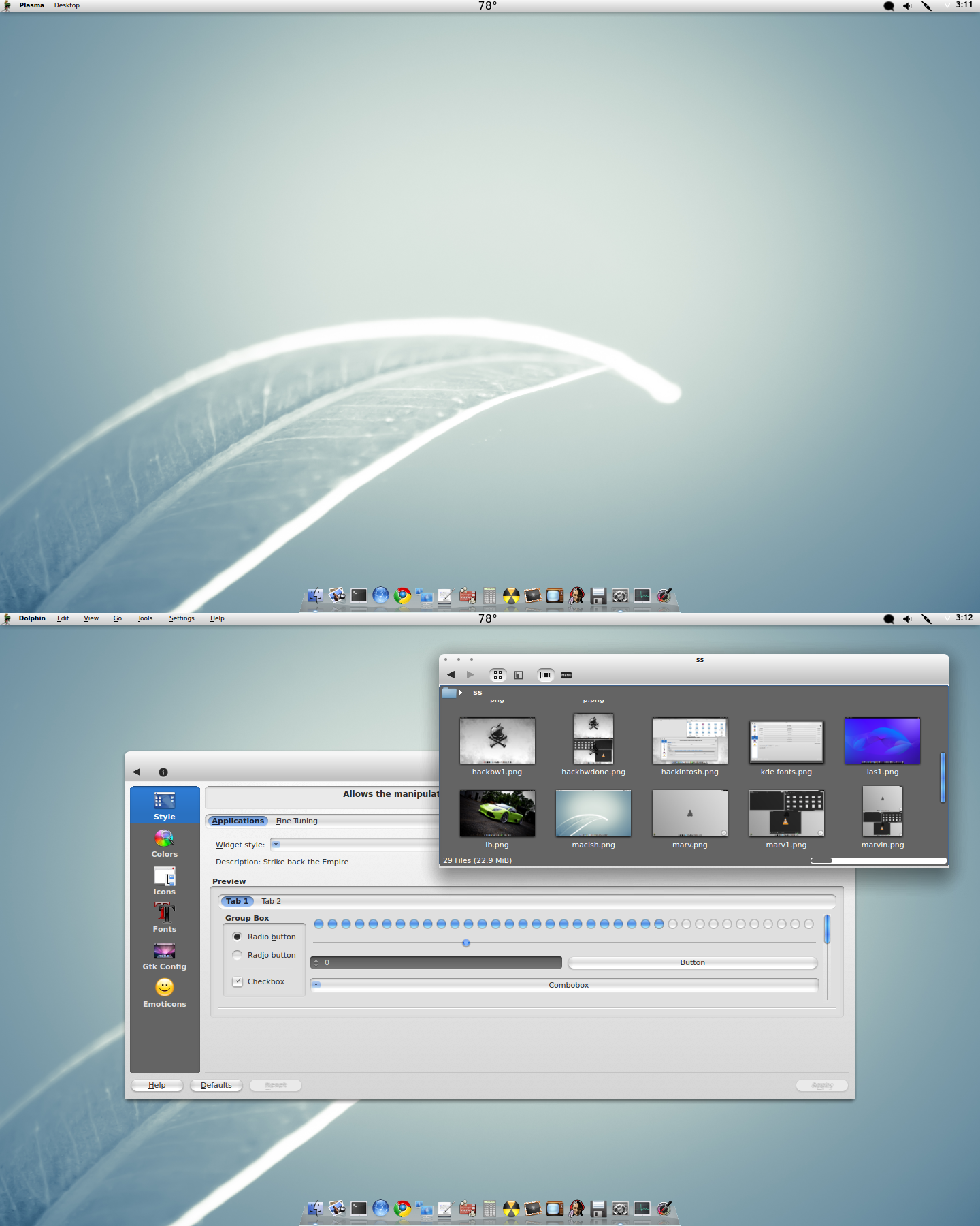 KDE CraazyT Style by CraazyT