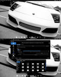 Arch Linux KDE Black and White