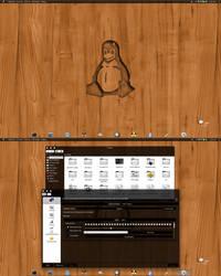 Kubuntu 12.10 KDE/BE:SHELL/BESPIN