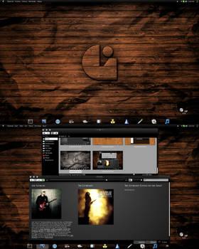 Kubuntu 12.10 KDE/BE:SHELL/BESPIN Blackout