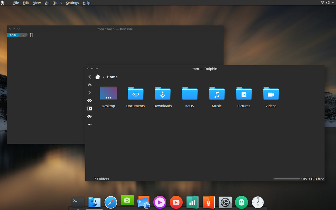 KaOS Linux by CraazyT