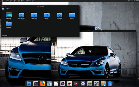 Blue MB Dark KDE -Neon 5.12.3 by CraazyT