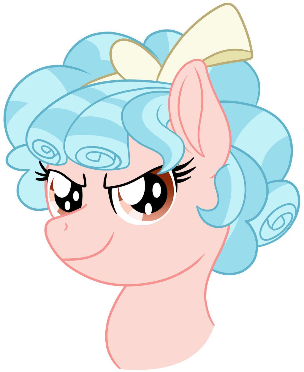 Evil Shirley Temple Pony