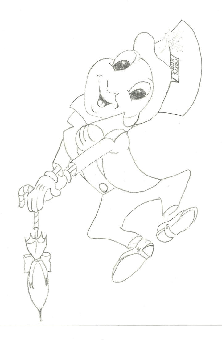 jiminey cricket coloring pages - photo#32
