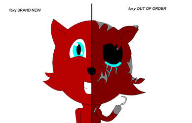 Foxy Before And Now