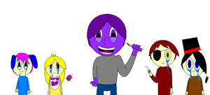 Purple Man And Souls