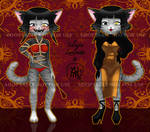 [A] SM Lady Cat ADOPTABLE! [CLOSED] by Snake-YuMa