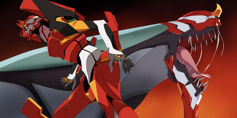 Rebuild Of Evangelion - EVA 02 by reda22