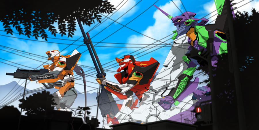 Rebuild Of Evangelion 20 By Reda22