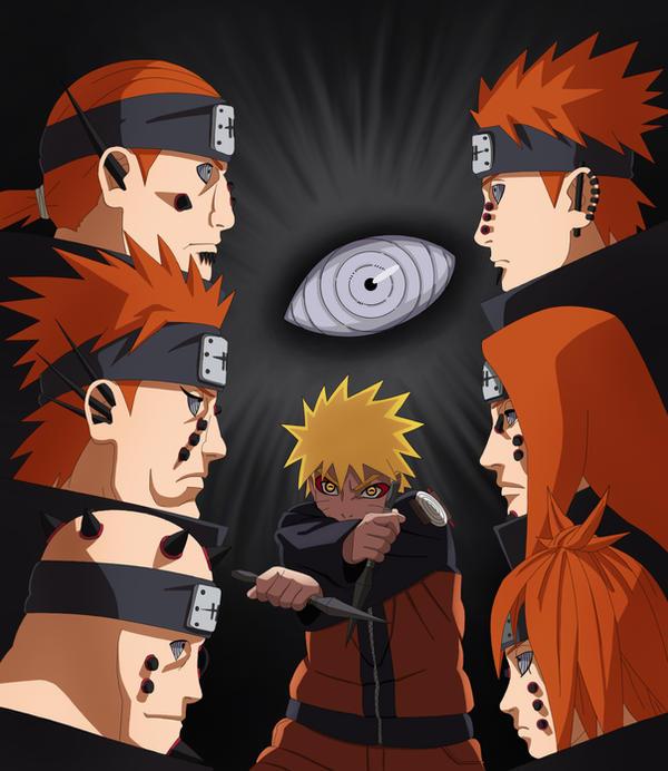 Pain Naruto Wallpaper: Six Path Of Pain.... By Reda22 On DeviantArt