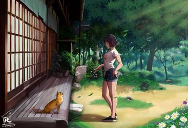 Japanese Garden by reda22