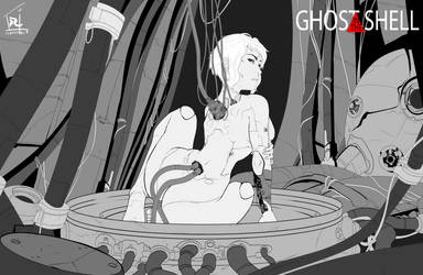Ghost in the Shell ( Line Art )