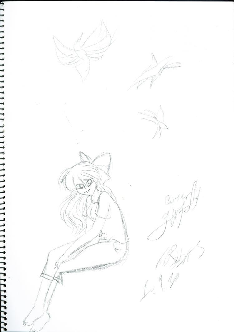 2010.09.10 Buterfly Girl by KellyVenus