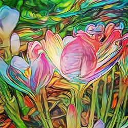 bright flowers  by KurtBeard