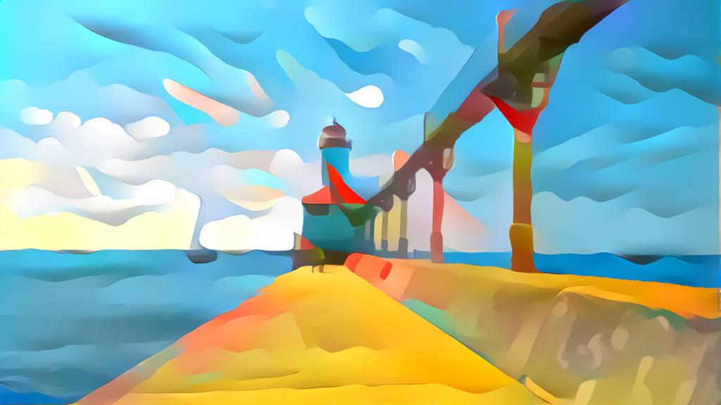 Michigan City Light House by KurtBeard