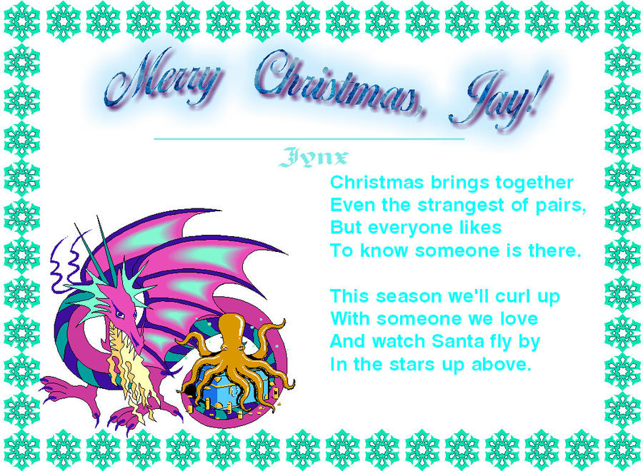 Jay's Christmas surprise by Random-Moon-Fox