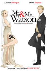BBC Sherlock: Mr. and Mrs. Watson by LMPandora
