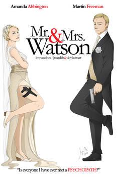 BBC Sherlock: Mr. and Mrs. Watson