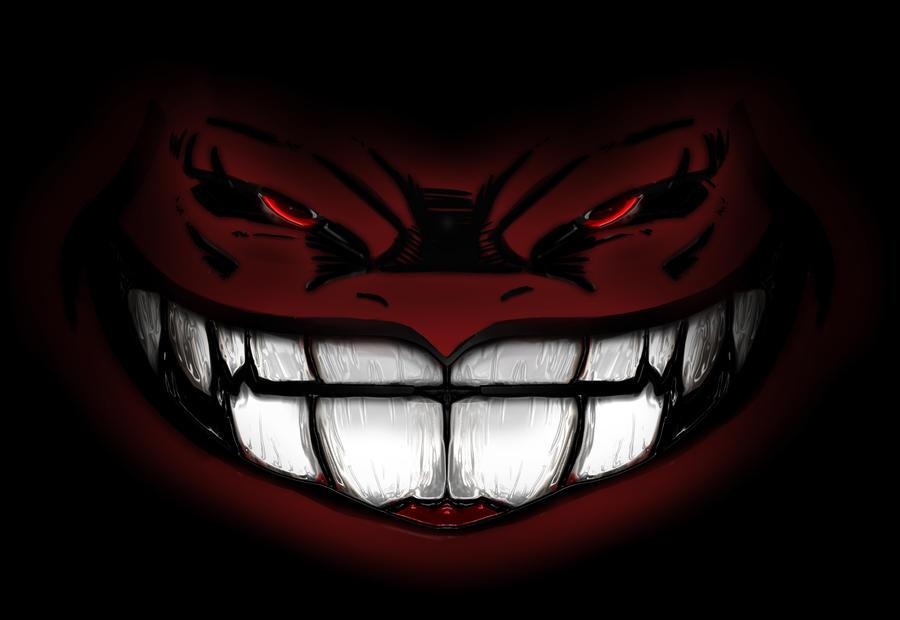 Evil Smile by FloozyWhoozy on DeviantArt