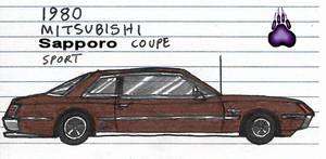 1980 Mitsubishi Sapporo Coupe Sport