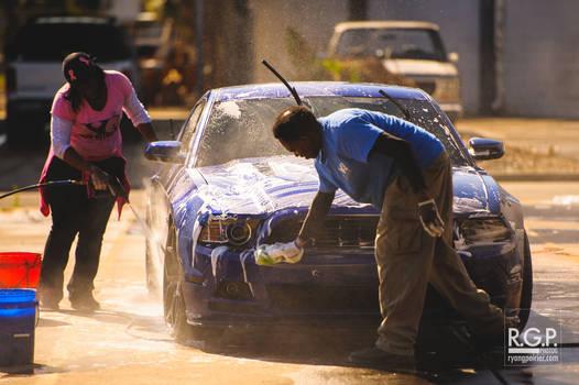 At the Car Wash |  RGP9167-web