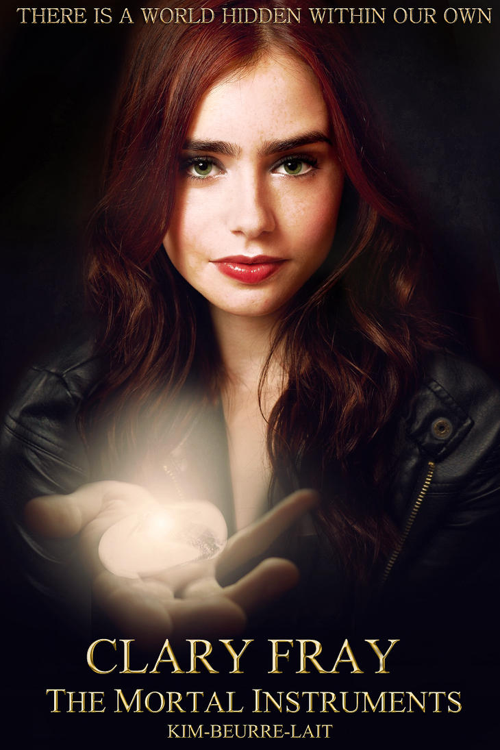 Clary Fray Fan Made by kim-beurre-lait on DeviantArt