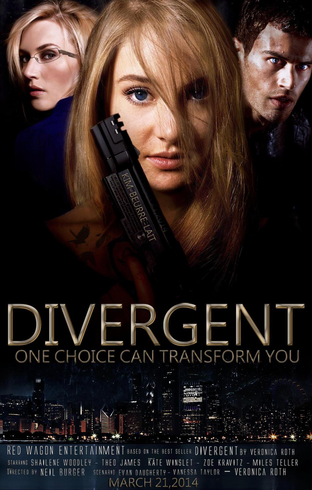 Divergent Fan Made Poster by kim-beurre-lait on DeviantArt