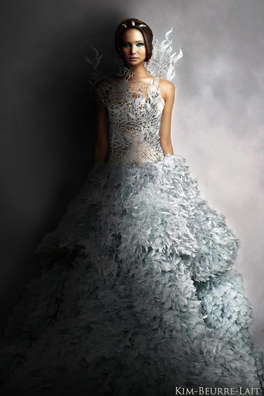 Katniss Everdeen Wedding Dress Designer