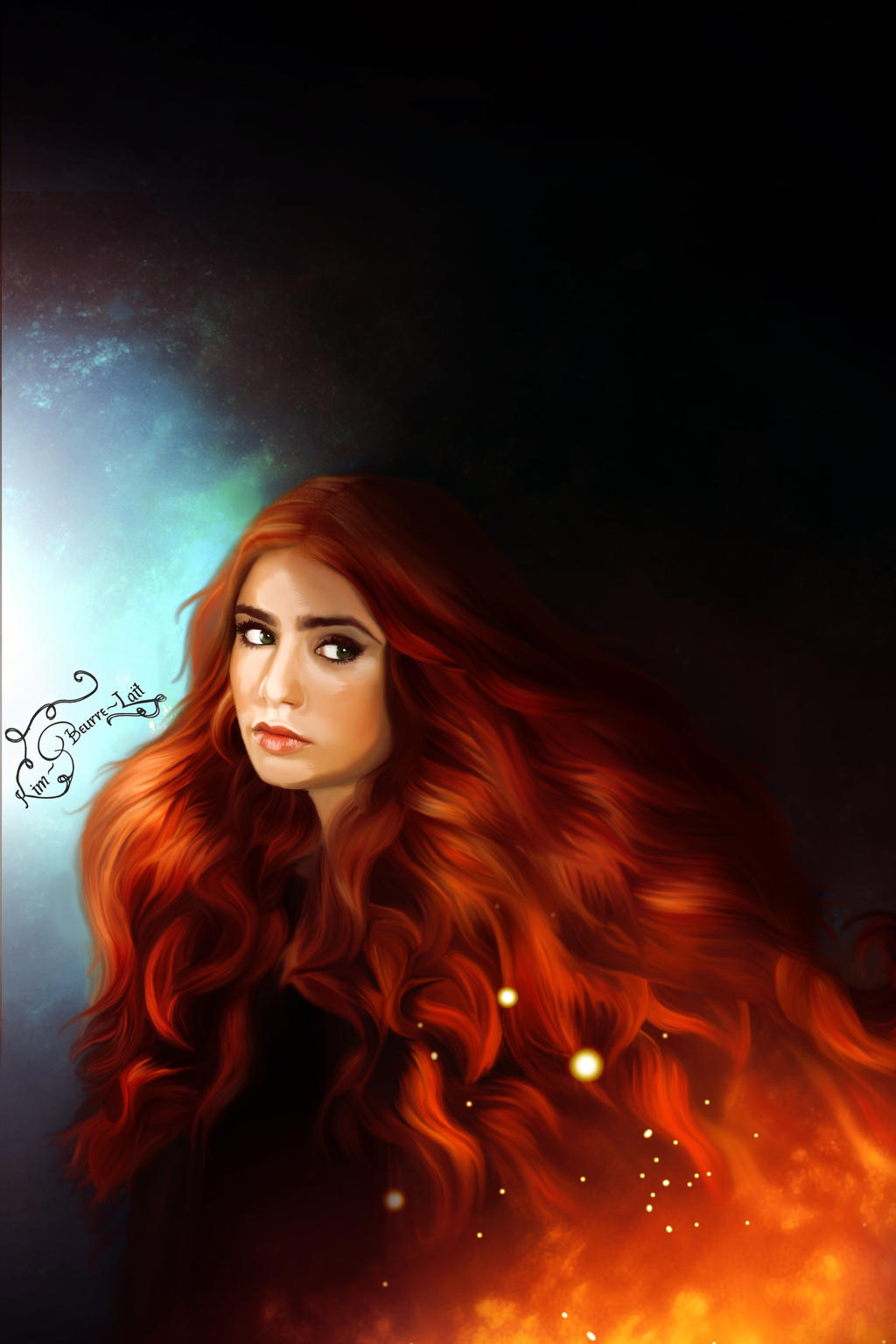 Clary Fray ~The Mortal Instruments by kim-beurre-lait