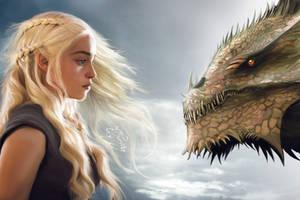 Daenerys Targaryen by kim-beurre-lait