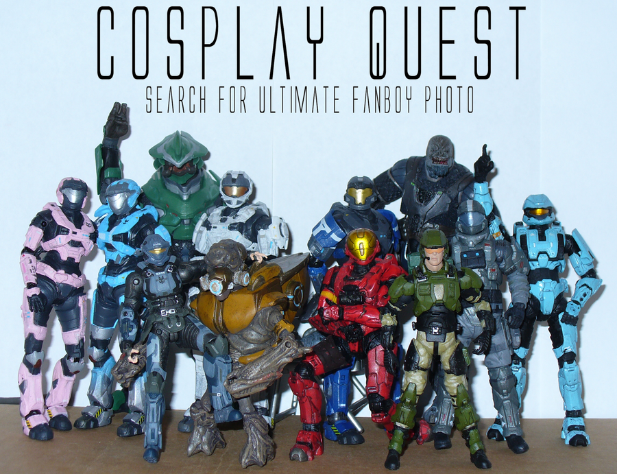 Cosplay Quest by Cinn-Ransome