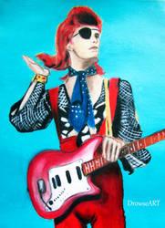 David Bowie by DrowseART