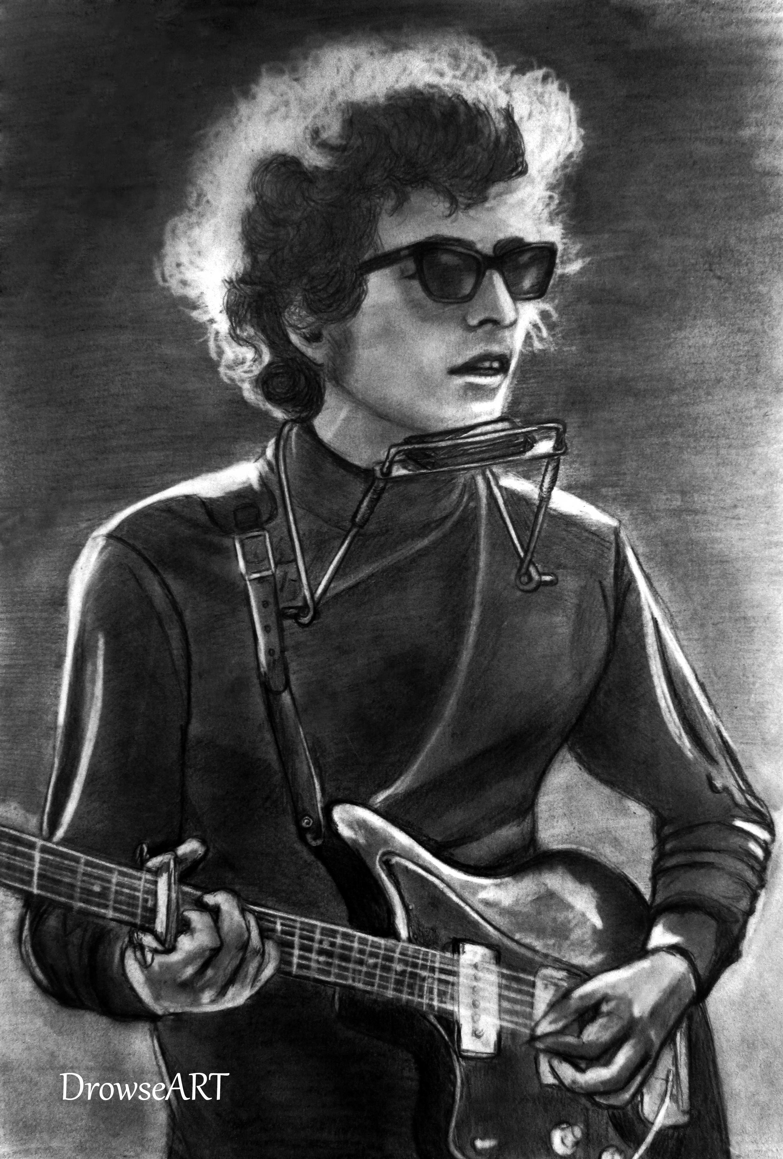 Bob Dylan By DrowseART