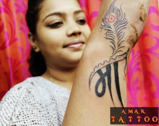 Maa Tattoo by AMARTATTOO