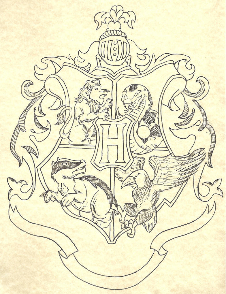 Hogwarts Crest By Skip27 On DeviantArt
