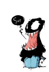 Venom in bucket by Nekr0ns
