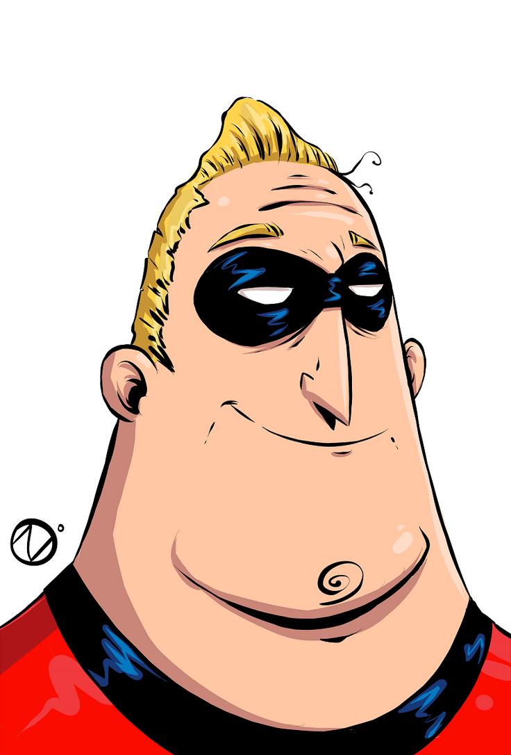 Mr. Incredible from  incredibles by Nekr0ns