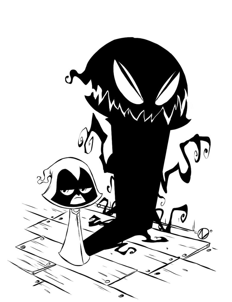 Teen Titans Go - Raven by Nekr0ns