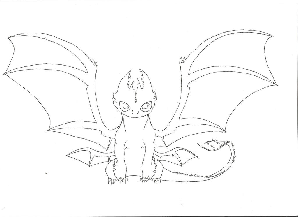 Gallery For gt Toothless Outline