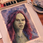 Gamora by OtterWhoDraws