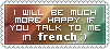 Stamp - Talk to me in French by KamuySinen