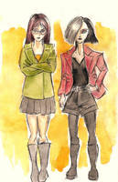 DARIA + JANE by aquiles-soir