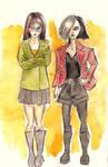 DARIA + JANE